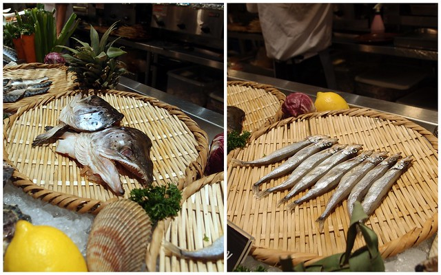 Buffet Town Robatayaki Counter: Fish
