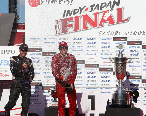 6159155149 3cec876888 Dixon Wins Wild Motegi IndyCar Series Race
