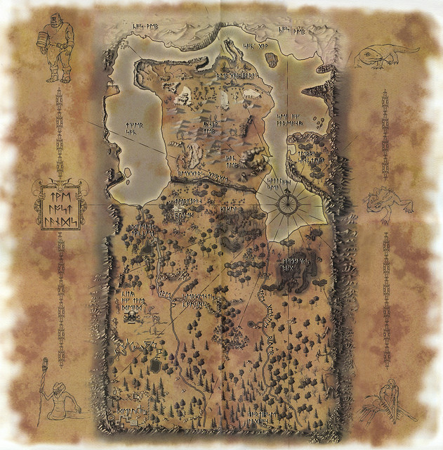 Ultima Online: The Second Age - Map of the Lost Lands