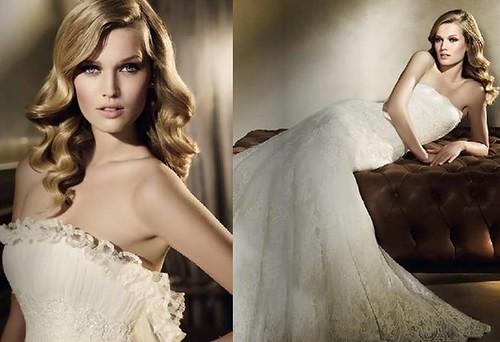 Toni-Garrn-vestidos-novia-Pronovias-2011