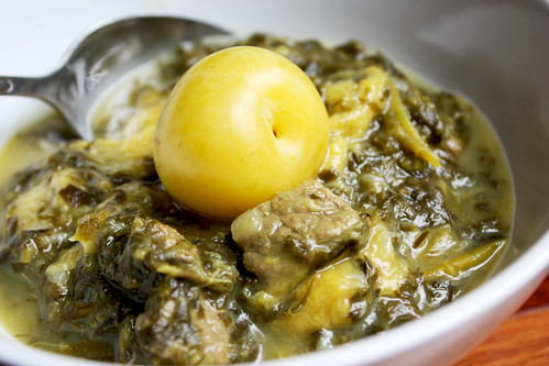 Yellow Plum Stew