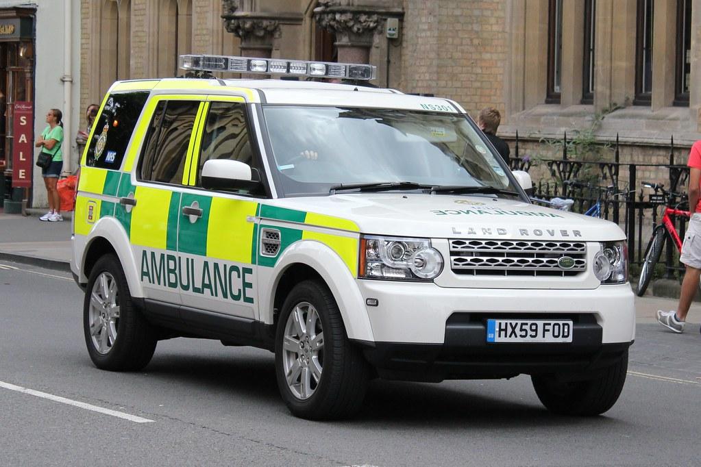 South Central Ambulance Service HX59 FOD