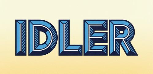 Idler Font / HypeForType Typefaces
