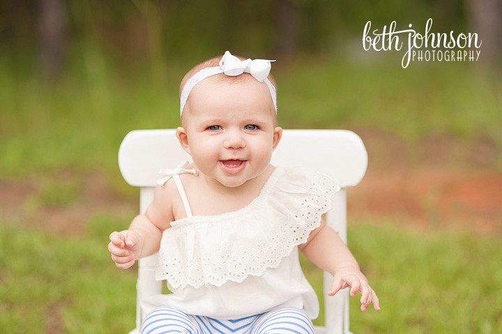 six month old baby girl in tallahassee