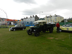 Vintage cars on Bray Seafront