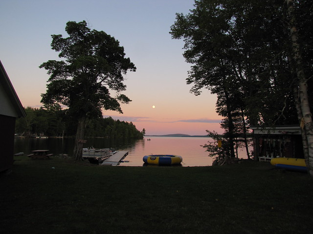 Lake at Sunset-1