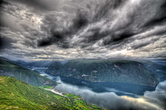 D7K_4524_5_6_tonemapped.jpg (m0nkiii) Tags: water norway clouds norge nikon angle wide sigma fjord 1020 hdr 3xp d7000
