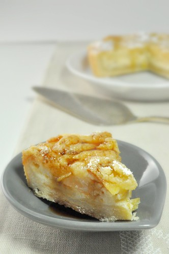 [The Secret Recipe Club] – Jule's Pear & Sour Cream Pie