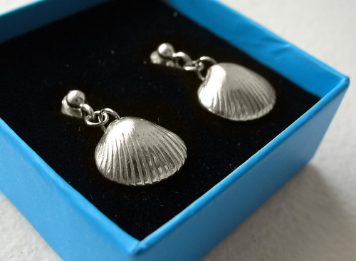 Cockle, earrings