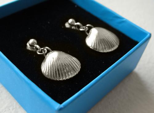 Cockle, earrings