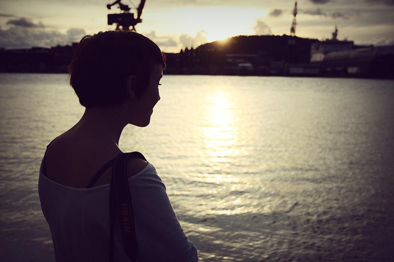 alice vid hamnen