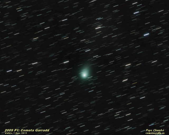 Comet Garradd in August