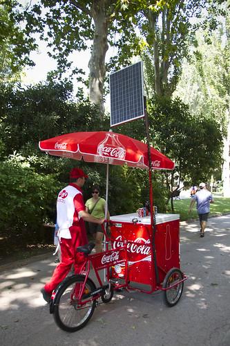 Barcelona Zoo Cargo Bike Acrobat