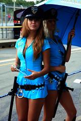 You will be arrest! (Iain Farrell) Tags: girls grid brno moto suzuki motogp gp