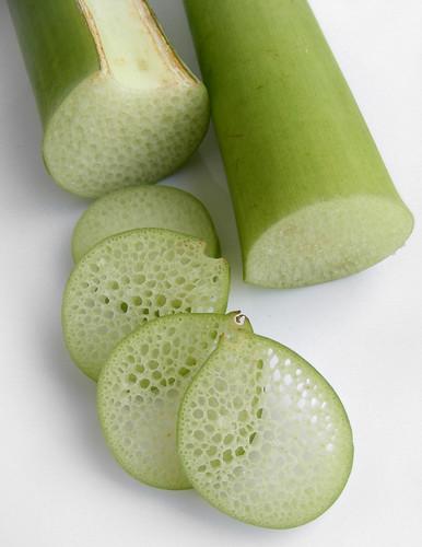 Vietnamese taro stems