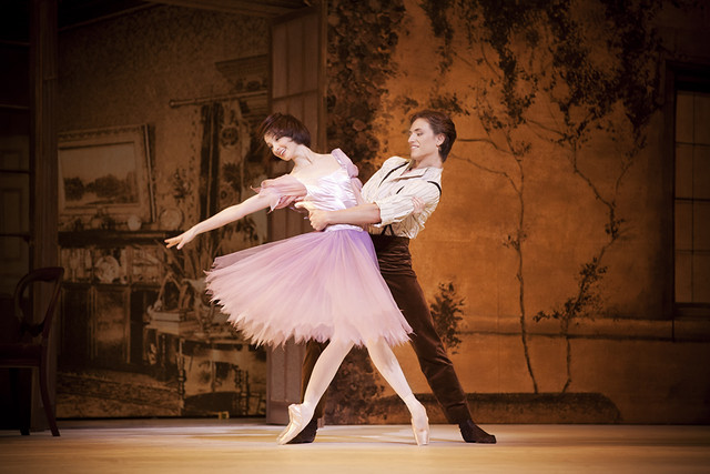 "Lauren Cuthbertson as Alice and Sergei Polunin as Jack in Christopher Wheeldon's Alice's Adventures in Wonderland. The Royal Ballet 2010/11 season. <a href=""http://www.roh.org.uk/productions/alices-adventures-in-wonderland-by-christopher-wheeldon"" rel=""nofollow"">www.roh.org.uk/productions/alices-adventures-in-wonderlan...</a>"