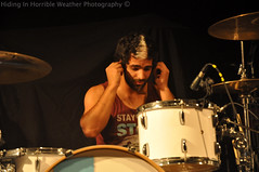 Rob Chianelli of We Are The In Crowd (Hiding In Horrible Weather) Tags: vancouver bc drumset live rob thevogue chianelli wearetheincrowd gimmesummeryalovetour drummertour