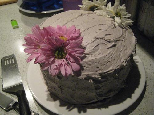 Choclate Lavendar Cake