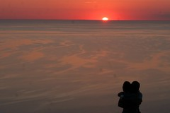 Proposal (Schuldenrein) Tags: boy sunset lake love girl sand dunes lakemichigan proposal sleepingbear