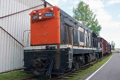 CN No. 805 (mcwetboy) Tags: museum train diesel locomotive narrowgauge g8 cnr exporail