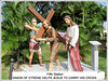 '5th Station of the Cross' at St. Anne's Sanctuary, Bukit Mertajam