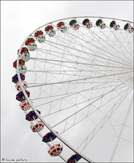 What goes up, must come down (louise peters) Tags: vienna wheel spinning prater farris reuzenrad wenen
