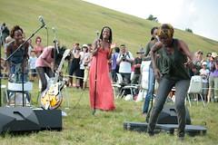 Rokia Traoré a I suoni delle Dolomiti (Xalira) Tags: world africa music pace mali trentino dolomiti forte somme wanita delle suoni traore 2011 rokia dosso tchamanche