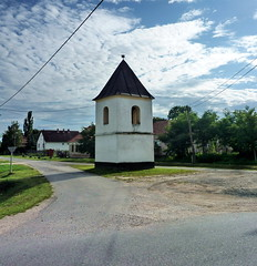 (elinor04) Tags: street old architecture rural hungary village traditional bellfry transdanubia sorkikpolna