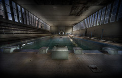 The DeeP enD  ::   ( explore ) (andre govia.) Tags: building abandoned water pool swimming dive andre creepy left derelict bord diveing govia