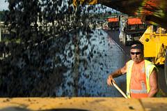Shovel ready (OregonDOT) Tags: bridge oregon portland construction fremont i405 odot oregondot