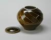 Tom Turner (American Museum of Ceramic Art) Tags: pomona tenmoku tomturner coveredjar ceramicarts amoca americanstudiopottery