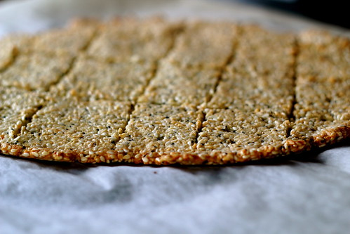 Sunday: Paleo Crackers