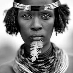 Dassanech woman - Ethiopia (Eric Lafforgue) Tags: woman beads eyes artistic culture tribal ornament tribes bodypainting tradition tribe ethnic rite tribo necklaces adornment pigments ethnology tribu eastafrica thiopien etiopia perles ethiopie etiopa galeb 8852  etiopija ethnie ethiopi  dassanech etiopien etipia  etiyopya  nomadicpeople    dasanech dassanetch   daasanach dasenach dassanach    peoplesoftheomovalley