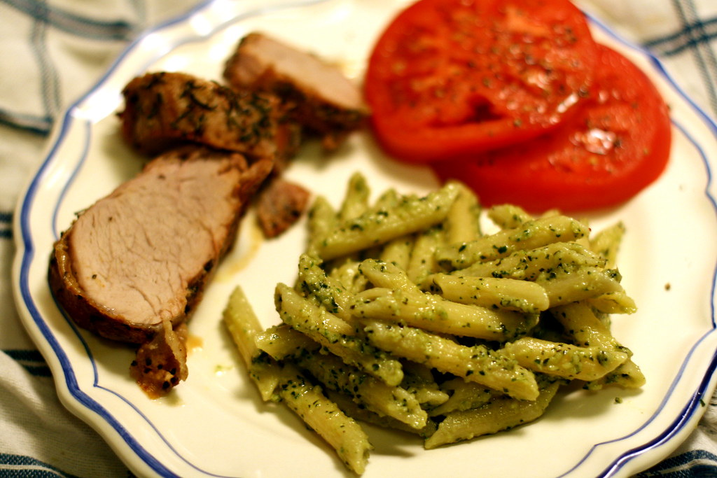 Basil and Tarragon Pesto