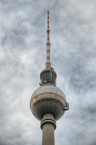 Fernsehturm at Alexanderplatz