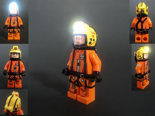 Custom minifig The Tenth Doctor's Space Suit