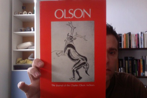 Olson: The Journal of the Charles Olson Archives, Number 10 by Michael_Kelleher