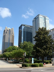 Three Banks ( Birmingham, Al.) (bamaboy1941) Tags: al birmingham downtown skyscrapers banks