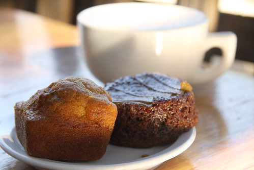 Big Sur Bakery - Rosemary cornbread & Persimmon Pudding