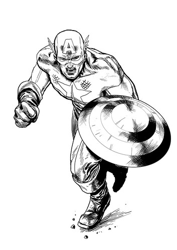 captain-america-TDT Rocketraygun kelvin chan Marvel COMICS