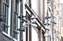 Shoes (michael_hamburg69) Tags: holland netherlands amsterdam converse hanging paysbas schuhe chucks allstars schuh niederlande sportschuhe turnschuh shoefiti shoetossing nordholland kingdomofthenetherlands royaumedespaysbas