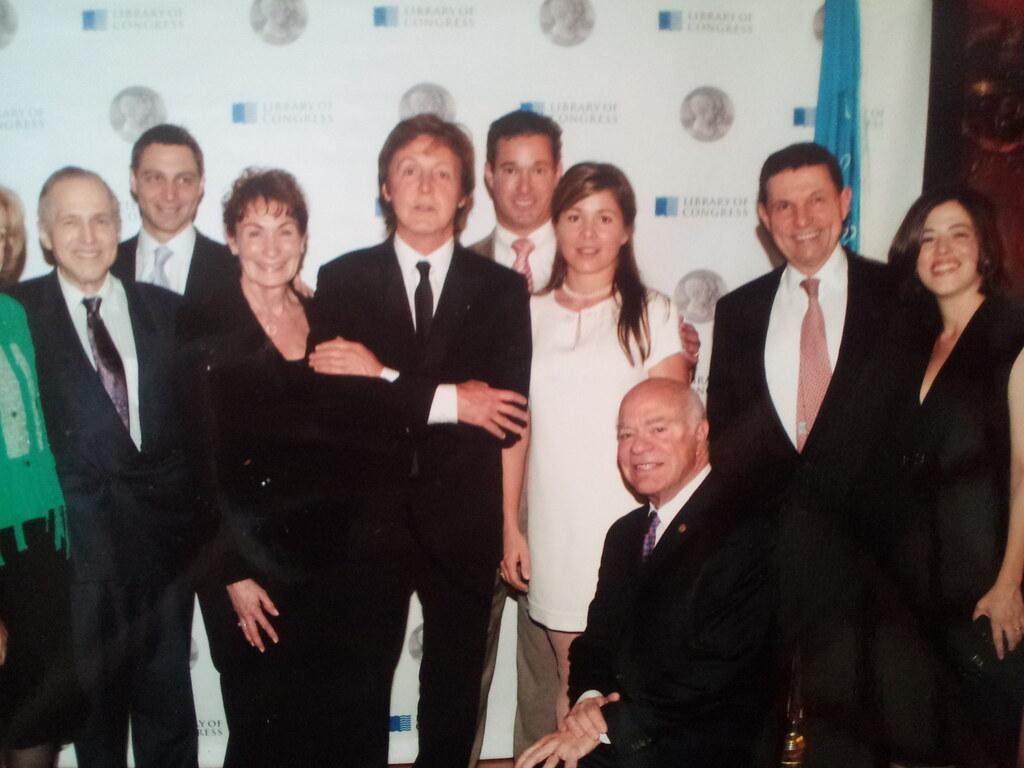 gershwin family with sir paul
