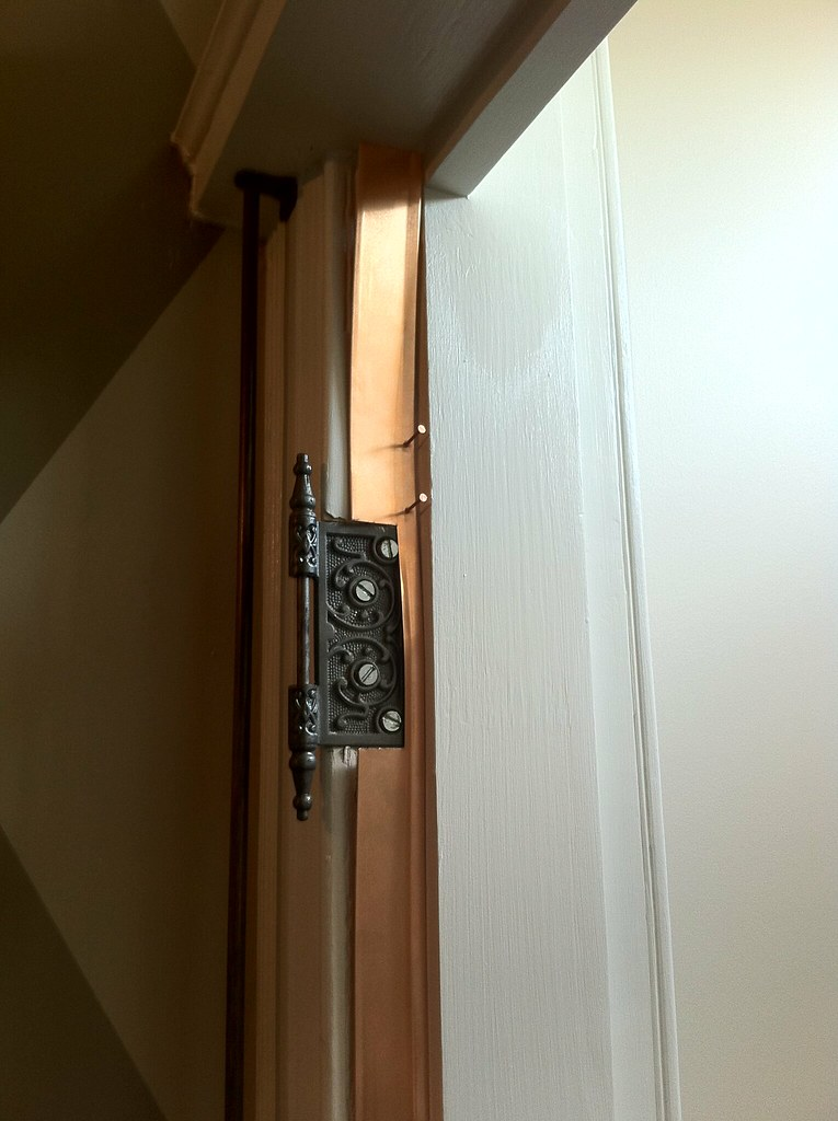 Old Door Weatherstripping? Dress It Up With Spring Bronze   Old Town Home