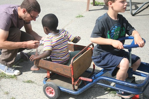 pedal truck.