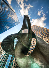 Towering Abstraction (Sky Noir) Tags: city sky sculpture tower philadelphia buildings square downtown skyscrapers south penn tall philly ritzcarlton hdr residences thecityofbrotherlylove skynoir bybilldickinsonskynoircom