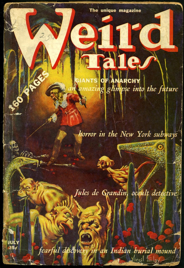 Virgil Finlay - Weird Tales, July 1939