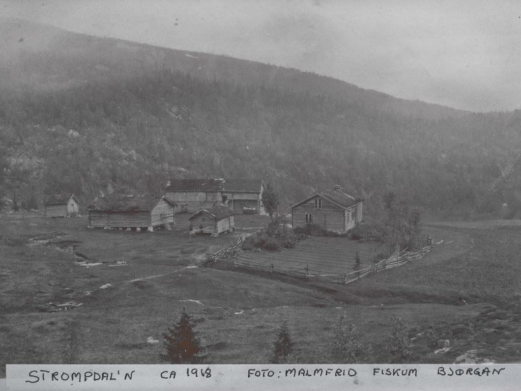 Strompdal anno 1918