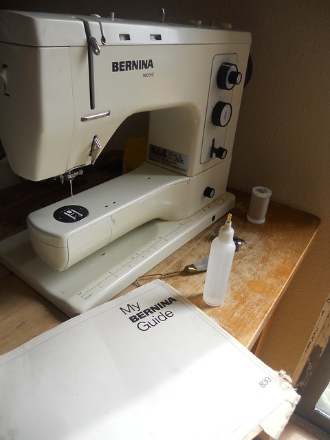 Sewing machine maintenance day