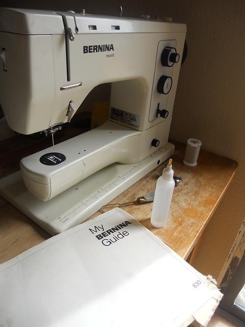 Sewing machine maintenance day