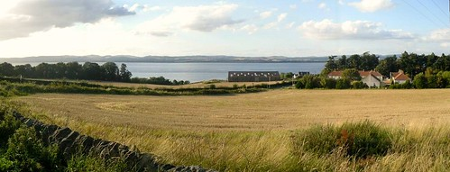 Balmerino from the road above